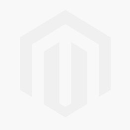 Sillites 7.5in Tall Candle w/ White PVC Sleeve and Candle Cap - Polished Brass