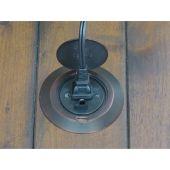 Sillites  Floor Ring - Antique Bronze Finish