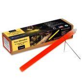 Cyalume 10-inch SnapLight Flare Alternative Light Sticks with Bi-Pod Stands - Case of 40 - Unfoiled - Red (9-27047)