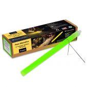 Cyalume 10-inch SnapLight Flare Alternative Light Sticks with Bi-Pod Stands - Case of 40 - Unfoiled - Green (9-27049)