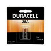 Duracell Medical 28A Alkaline Battery - 1 Piece Retail Packaging