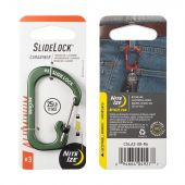 Nite Ize S-Biner SlideLock Aluminum #3 - Olive