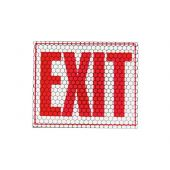 "Cyalume CyFlect Exit Sign - 8"" x 10"""