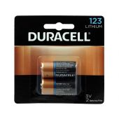 Duracell Ultra CR123A Lithium Batteries - 1470mAh  - 2 Piece Retail Packaging