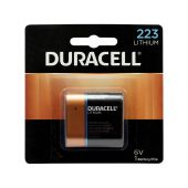 Duracell Ultra 223 / CRP2 Lithium Battery - 1400mAh  - 1 Piece Retail Packaging