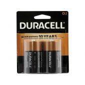 Duracell Coppertop D Alkaline Batteries - 2 Piece Retail Packaging