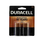 Duracell Coppertop C Alkaline Batteries - 2 Piece Retail Packaging
