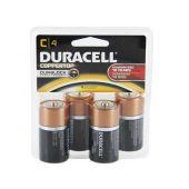 Duracell Coppertop C Alkaline Batteries - 4 Piece Clam Shell