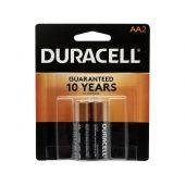 Duracell Coppertop AA Alkaline Batteries - 2 Piece Retail Packaging