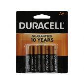 Duracell Coppertop AA Alkaline Batteries - 4 Piece Retail Packaging