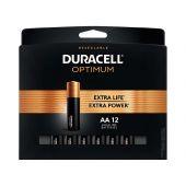 Duracell Optimum AA Batteries - 12 Piece Retail Card