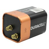 Angle Shot of the Duracell CopperTop 6V Alkaline Battery
