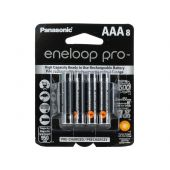 Panasonic Eneloop Pro AAA 950mAh 1.2V Low Self Discharge NiMH Rechargeable Batteries - 8 Pack Retail Card