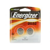 Energizer CR2032 Lithium Coin Cell Batteries - 240mAh  - 2 Piece Blister Pack
