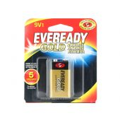 Energizer Eveready Gold A522 9V Alkaline Battery - 1 Piece Retail Packaging