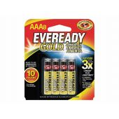 Energizer Eveready Gold A92 AAA Alkaline Batteries - 8 Piece Retail Packaging