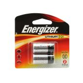 Energizer EL CR123A Lithium Batteries - 1500mAh  - 2 Piece Retail Packaging
