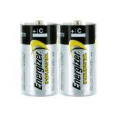 Energizer Industrial EN93 C 1.5V Alkaline Button Top Batteries - 2 Pack