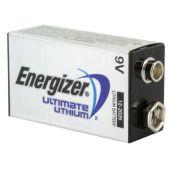 Energizer Ultimate 9V Lithium Battery - 1 Piece Plastic Bag