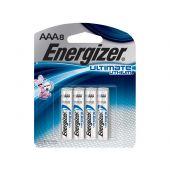 Energizer UltimateLithium AAA - 8 Piece Retail Card