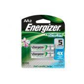 Energizer Recharge AA Ni-MH Batteries - 2300mAh  - 2 Piece Retail Packaging