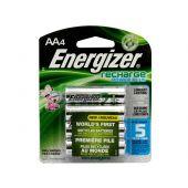 Energizer Recharge AA Ni-MH Batteries - 2300mAh  - 4 Piece Retail Packaging