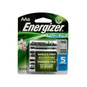 Energizer Recharge AA Ni-MH Batteries - 2300mAh  - 8 Piece Retail Packaging