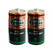 Vinnic Heavy Duty 1.5V C Batteries - Main Image
