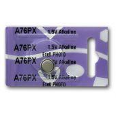Exell A76 180mAh 1.5V Alkaline Battery