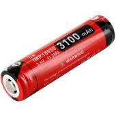Klarus IMR 18650 Protected Li-ion Battery - Black