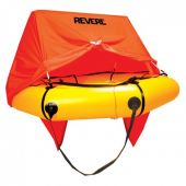 Revere Coastal Compact 4 Person Liferaft with Canopy - Valise Pack
