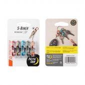 Nite Ize S-Biner MicroLock Aluminum - 5 Pack - Assorted