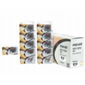 Maxell 391 Silver Oxide Coin Cell Battery - 55mAh  - 1 Piece Tear Strip