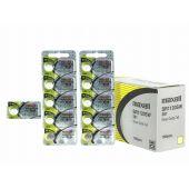 Maxell 381 Silver Oxide Coin Cell Battery - 55mAh  - 1 Piece Tear Strip
