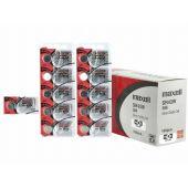 Maxell 301 / 386 Silver Oxide Coin Cell Battery - 125mAh  - 1 Piece Tear Strip
