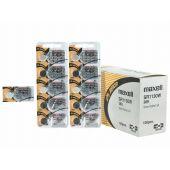 Maxell 389 / 390 Silver Oxide Coin Cell Battery - 79mAh  - 1 Piece Tear Strip