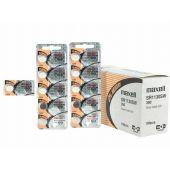 Maxell 389 / 390 Silver Oxide Coin Cell Battery - 83mAh  - 1 Piece Tear Strip