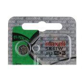 Maxell 392 / 384 Silver Oxide Coin Cell Battery - 39mAh  - 1 Piece Tear Strip