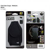 Nite Ize Clip Case Cargo Cell Phone Holder - Medium - Black