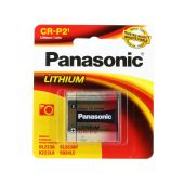 Panasonic 6V Lithium CR-P2  Photo Battery