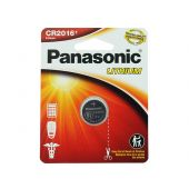 Panasonic CR2016 Coin Cell Battery - 1 Piece Standard Size Carded Packaging