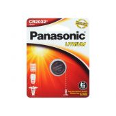 Panasonic CR2032 Coin Cell Battery - 1 Piece Standard Size Retail Card
