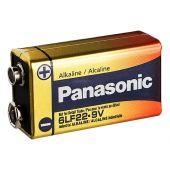 Panasonic Industrial 9V Alkaline Battery - Case of 210 Cells