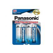 Panasonic Platinum Power D Alkaline Batteries - Package Shot