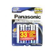 Panasonic Platinum Power AA Alkaline Batteries - Package Shot