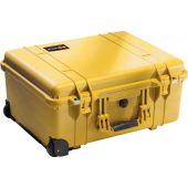 Pelican 1560 Case - With Foam Insert - Yellow