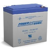 Powersonic PS-665 SLA Battery 6-Volt 6.5-AH FP Terminal