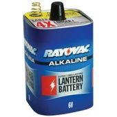 Rayovac Alkaline 6V Lantern Battery - Spring Terminal - 1 Piece Bulk