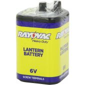 Rayovac Zinc Chloride 6V Lantern Battery - Screw Terminal - 9700mAh - 1 Piece Shrink Pack