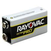 Rayovac Ultra Pro 9V Alkaline Battery - 1 Piece Bulk